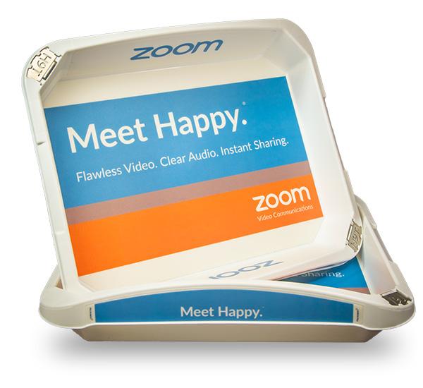 SecureTray Zoom advertising